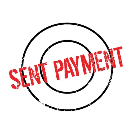 appointed: Sent Payment rubber stamp