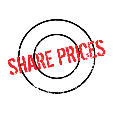 Share Prices rubber stamp