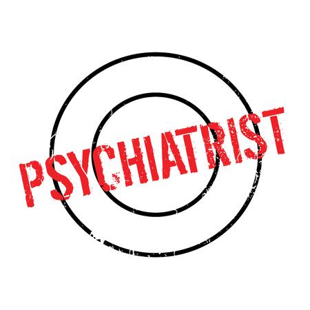 Psychiatrist rubber stamp