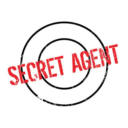 principal: Sello de caucho del agente secreto