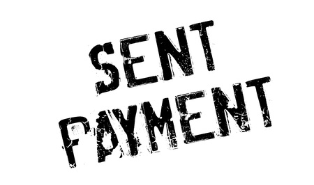 mailed: Sent Payment rubber stamp