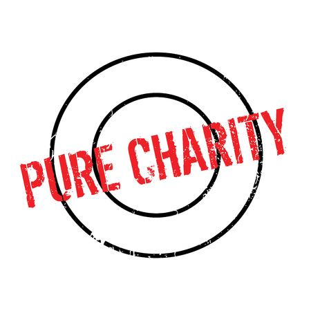 alms: Pure Charity rubber stamp