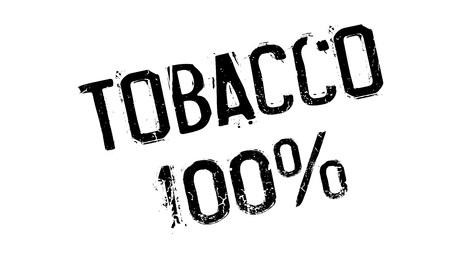 Tobacco 100% rubber stamp