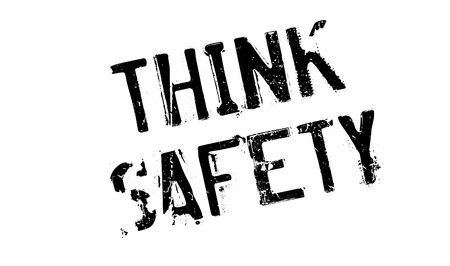 Think Safety rubber stamp