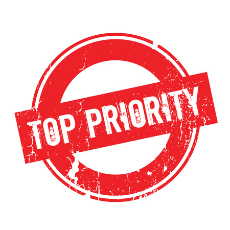 precedence: Top Priority rubber stamp