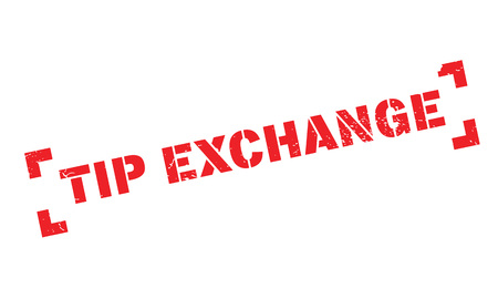 Tip Exchange rubber stamp