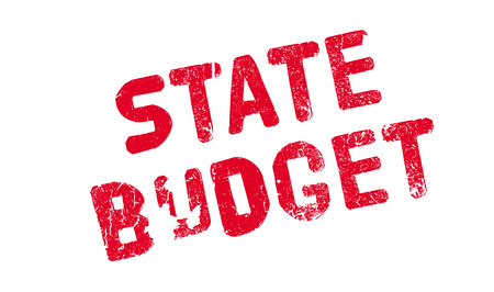 State Budget rubber stamp