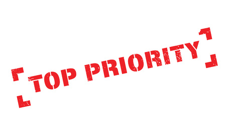 Top Priority rubber stamp