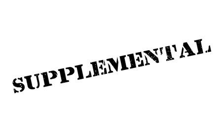 eligibility: Supplemental rubber stamp Illustration