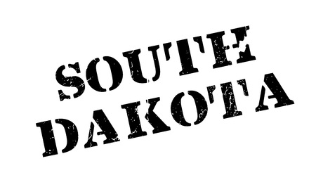 South Dakota rubber stamp