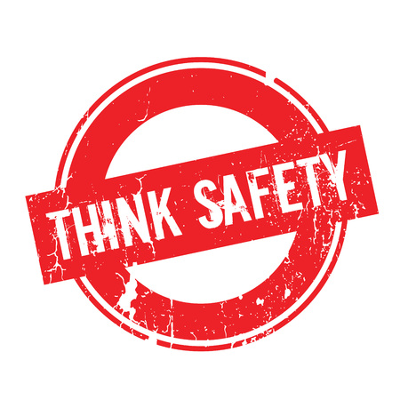 comprehend: Think Safety rubber stamp