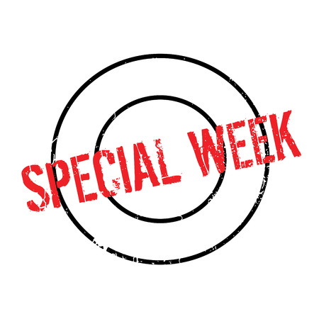 Special Week rubber stamp