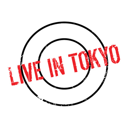 Live In Tokyo rubber stamp