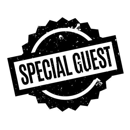 Special Guest Stempel Vektorgrafik