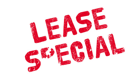 Lease Special rubber stamp