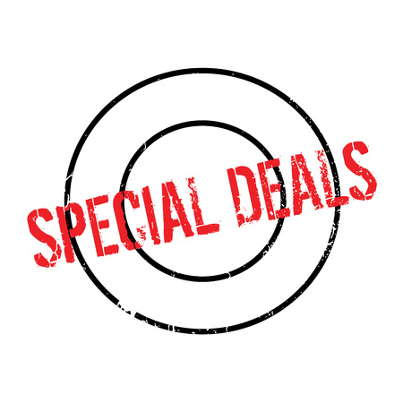Special Deals rubber stamp