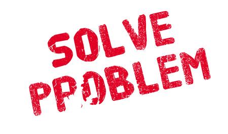 decode: Solve Problem rubber stamp