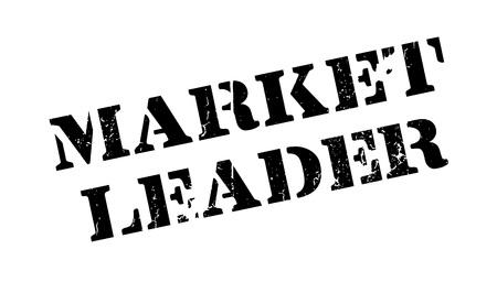 cash cow: Market Leader rubber stamp