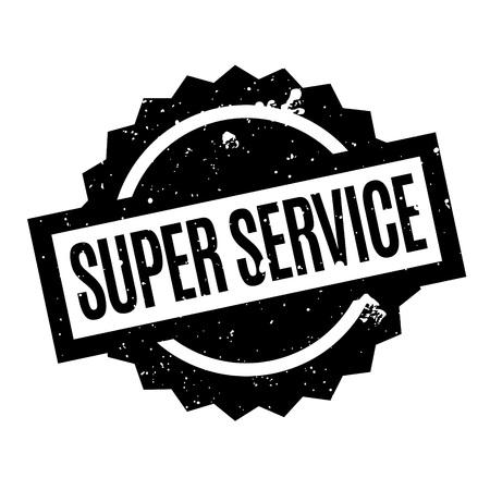 ministration: Super Service rubber stamp