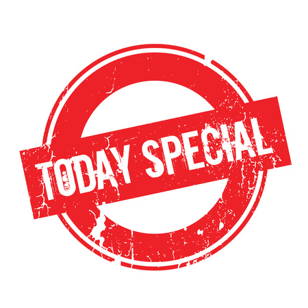 Today Special rubber stamp