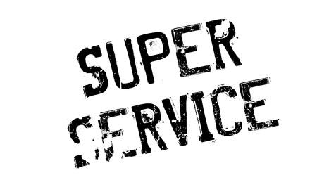 advantages: Super Service rubber stamp