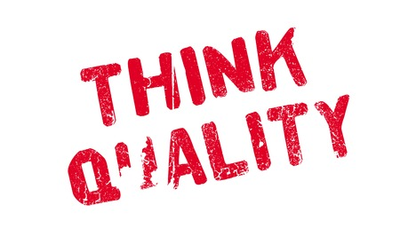 Think Quality rubber stamp