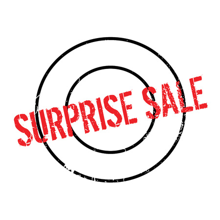 consternation: Surprise Sale rubber stamp