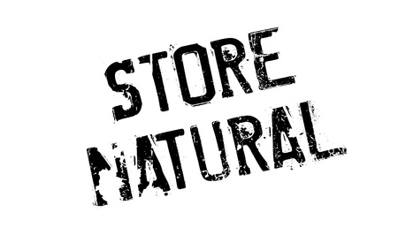Store Natural rubber stamp