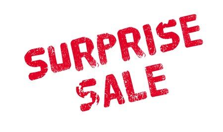 Surprise Sale rubber stamp