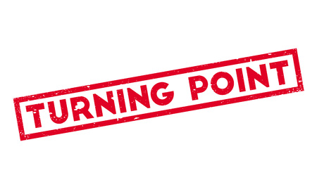 the turn of the year: Turning Point rubber stamp