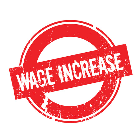Wage Increase rubber stamp
