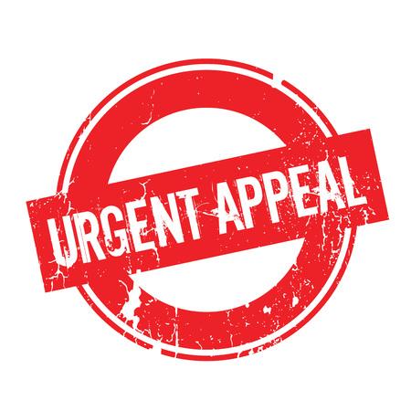 Urgent Appeal rubber stamp