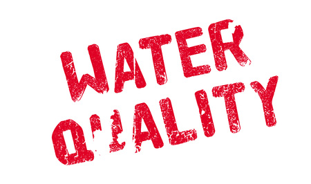 groundwater: Water Quality rubber stamp