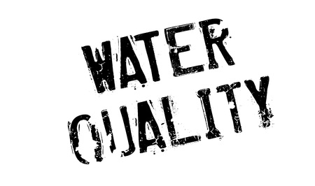Water Quality rubber stamp