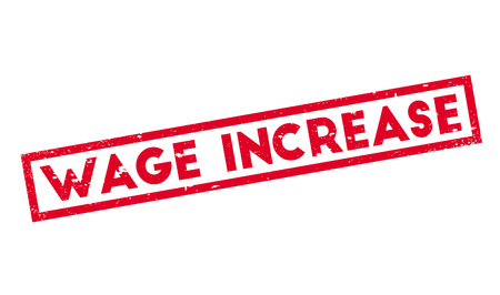 wage: Wage Increase rubber stamp
