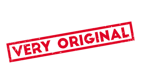 Very Original rubber stamp