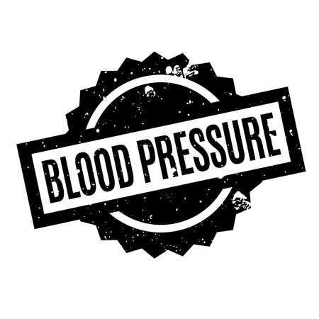 diastolic: Blood Pressure rubber stamp