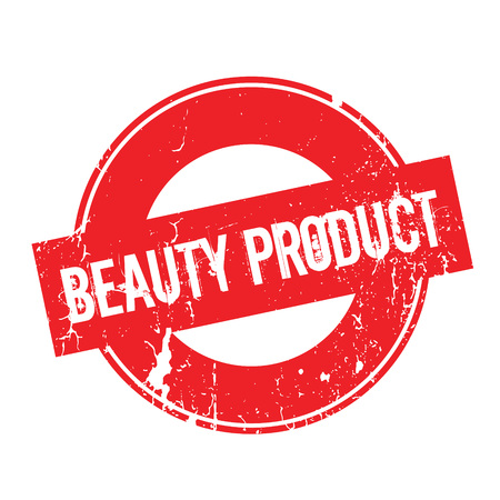 Beauty Product rubber stamp