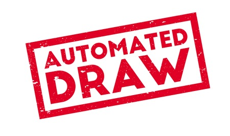 Automated Draw rubber stamp