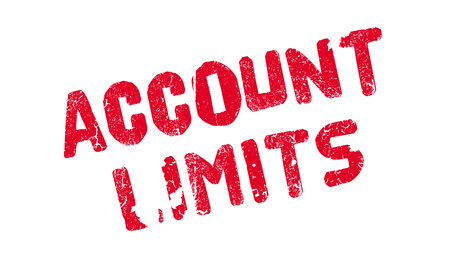 Account Limits rubber stamp