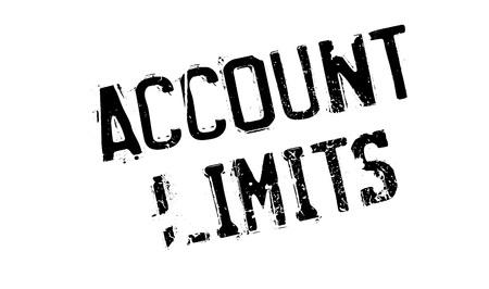 confinement: Account Limits rubber stamp