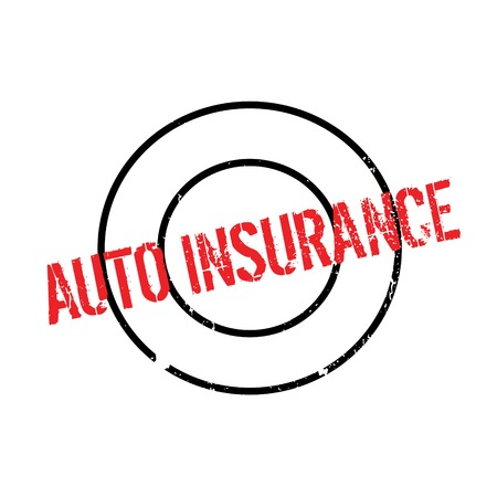 ensuring: Auto Insurance rubber stamp