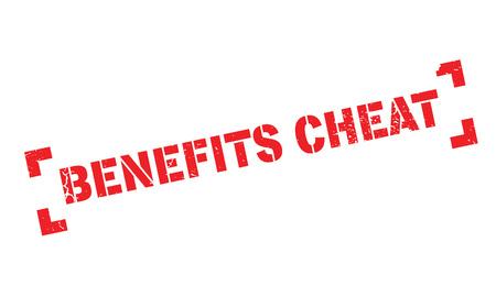 cheat: Benefits Cheat rubber stamp