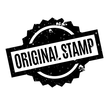 beginnings: Original Stamp rubber stamp