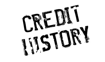 Credit History Rubberstempel