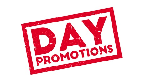 Day Promotions rubber stamp