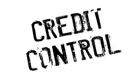 クレジット コントロール ラバー スタンプ