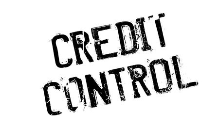 Credit Control rubber stamp Stock Vector - 78533877
