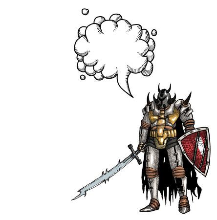 warrior with sword-100