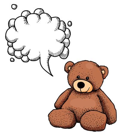 cute bear: teddy bear-100